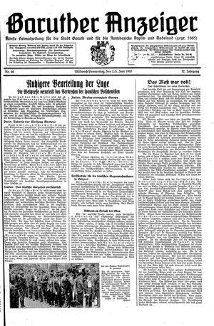 Baruther Anzeiger vom 02.06.1937