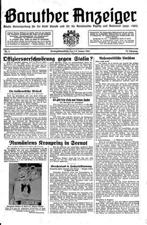 Baruther Anzeiger vom 07.01.1938