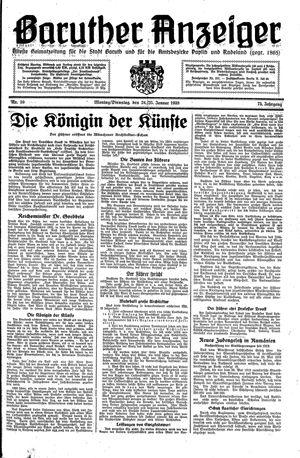 Baruther Anzeiger vom 24.01.1938