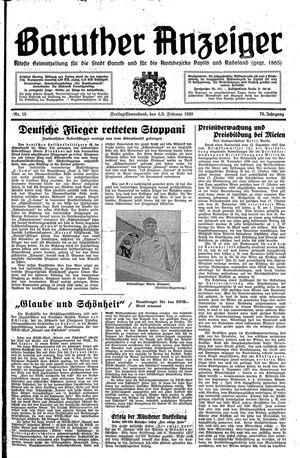 Baruther Anzeiger vom 04.02.1938