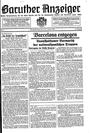 Baruther Anzeiger on Jan 16, 1939