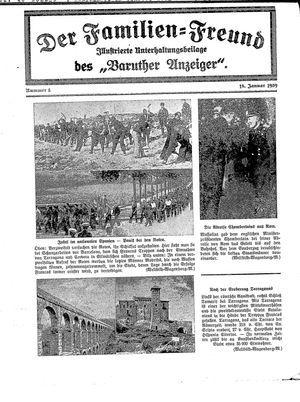 Baruther Anzeiger vom 18.01.1939
