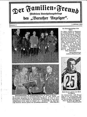 Baruther Anzeiger vom 01.02.1939