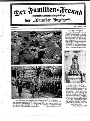 Baruther Anzeiger vom 15.02.1939