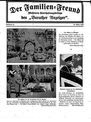 Baruther Anzeiger vom 29.03.1939