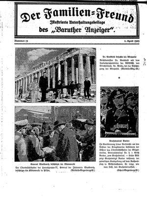 Baruther Anzeiger vom 05.04.1939