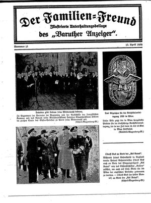 Baruther Anzeiger on Apr 12, 1939