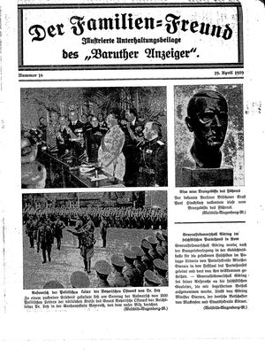 Baruther Anzeiger on Apr 19, 1939