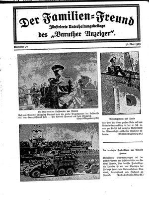 Baruther Anzeiger vom 17.05.1939