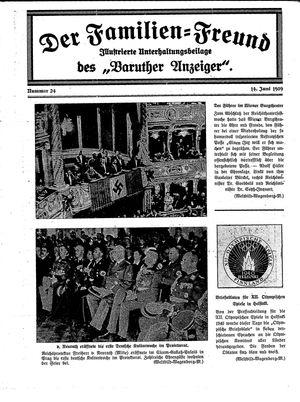 Baruther Anzeiger vom 14.06.1939