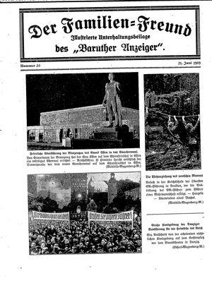 Baruther Anzeiger vom 21.06.1939