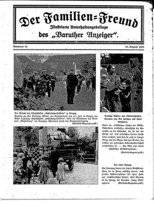 Baruther Anzeiger vom 30.08.1939