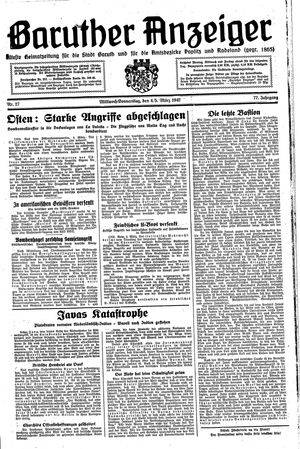 Baruther Anzeiger vom 04.03.1942