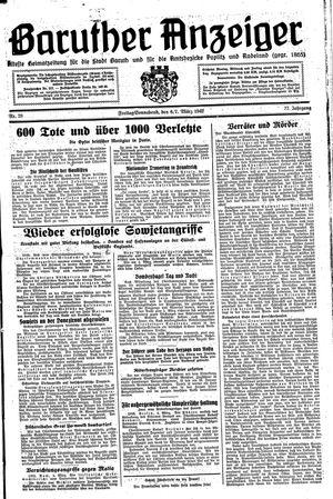 Baruther Anzeiger vom 06.03.1942