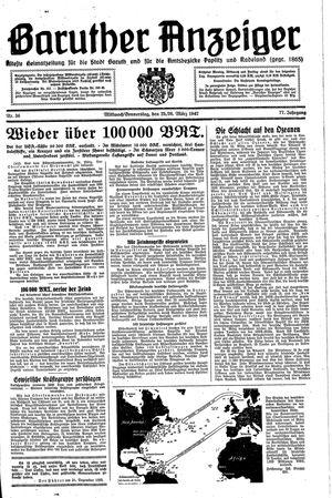 Baruther Anzeiger on Mar 25, 1942