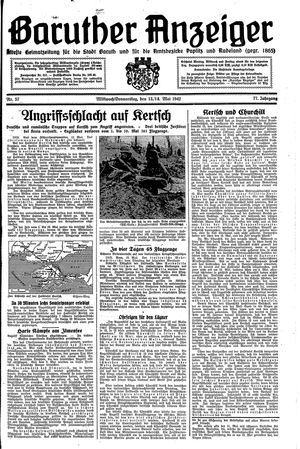 Baruther Anzeiger on May 13, 1942