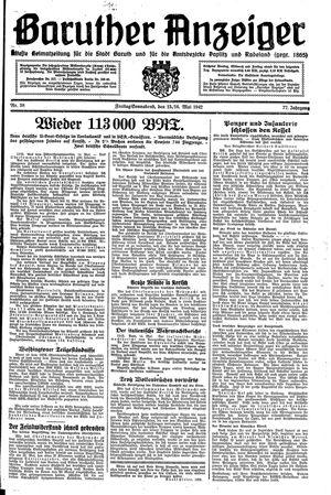 Baruther Anzeiger vom 15.05.1942