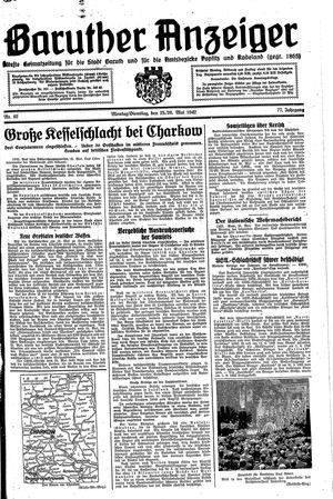 Baruther Anzeiger vom 25.05.1942
