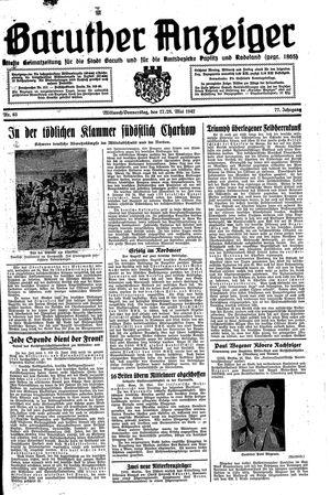 Baruther Anzeiger vom 27.05.1942