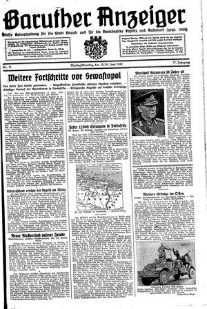 Baruther Anzeiger on Jun 15, 1942