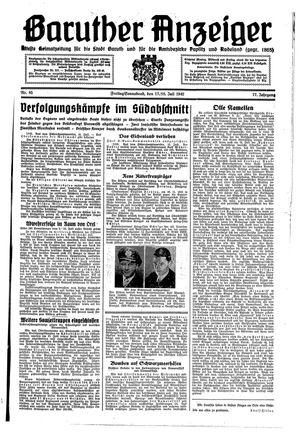 Baruther Anzeiger vom 17.07.1942