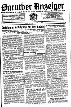 Baruther Anzeiger vom 03.08.1942