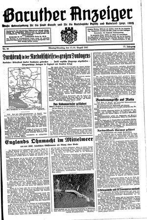 Baruther Anzeiger vom 17.08.1942