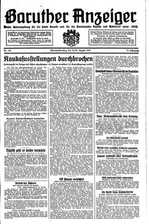 Baruther Anzeiger on Aug 24, 1942