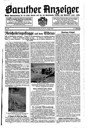 Baruther Anzeiger vom 26.08.1942