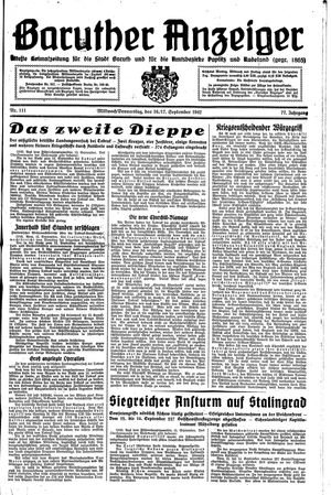 Baruther Anzeiger on Sep 16, 1942
