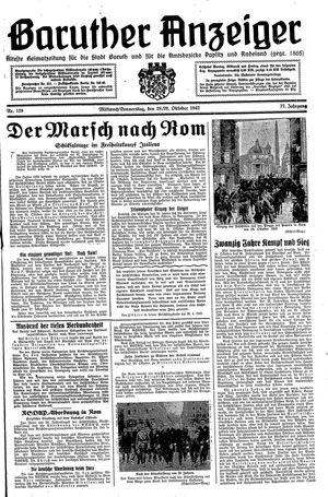 Baruther Anzeiger vom 28.10.1942
