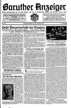 Baruther Anzeiger vom 04.12.1942