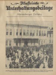 Rheinsberger Zeitung / Illustrierte Unterhaltungsbeilage