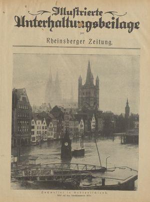 Rheinsberger Zeitung vom 09.01.1926