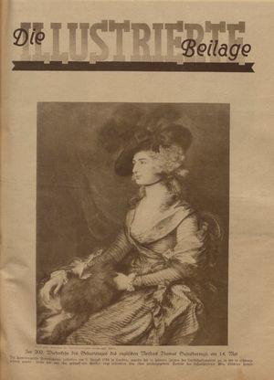 Rheinsberger Zeitung vom 14.05.1927