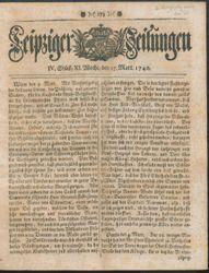 Leipziger Zeitungen (17.03.1740)