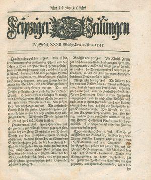 Leipziger Zeitungen vom 10.08.1747