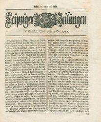 Leipziger Zeitungen (14.12.1747)