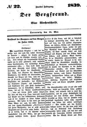 ˜Derœ Bergfreund on May 31, 1839