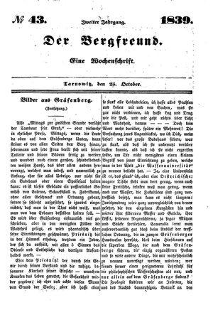 ˜Derœ Bergfreund vom 25.10.1839