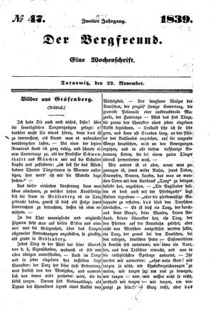 ˜Derœ Bergfreund on Nov 22, 1839