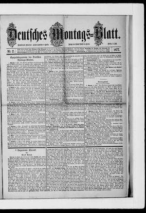 Berliner Tageblatt und Handels-Zeitung vom 09.07.1877