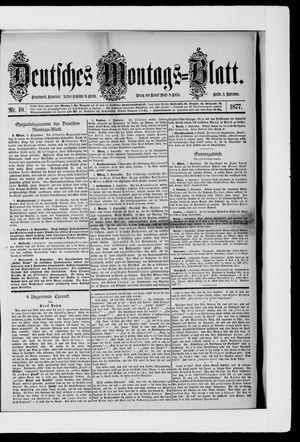 Berliner Tageblatt und Handels-Zeitung vom 03.09.1877