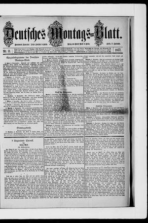 Berliner Tageblatt und Handels-Zeitung vom 10.09.1877
