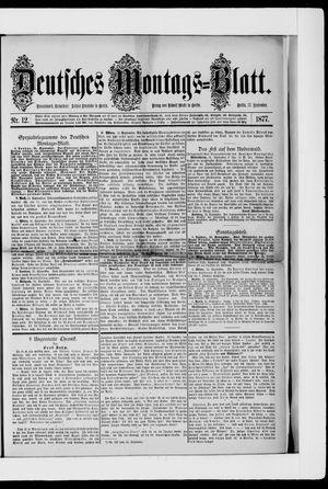 Berliner Tageblatt und Handels-Zeitung vom 17.09.1877