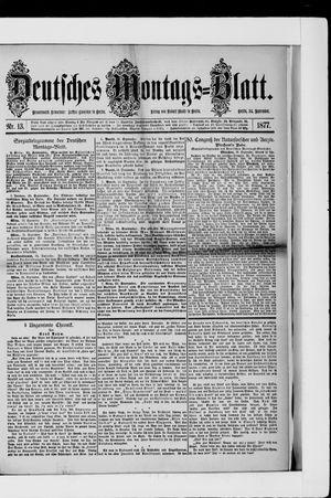 Berliner Tageblatt und Handels-Zeitung on Sep 24, 1877