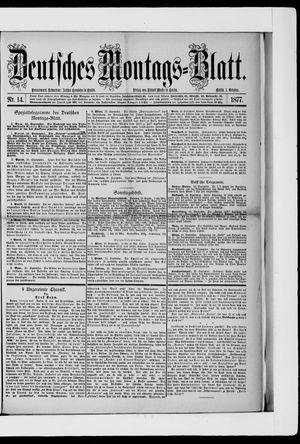 Berliner Tageblatt und Handels-Zeitung vom 01.10.1877