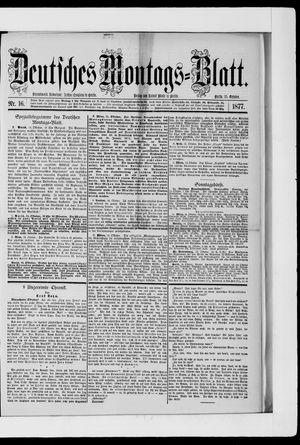 Berliner Tageblatt und Handels-Zeitung vom 15.10.1877