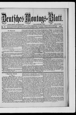 Berliner Tageblatt und Handels-Zeitung vom 22.10.1877