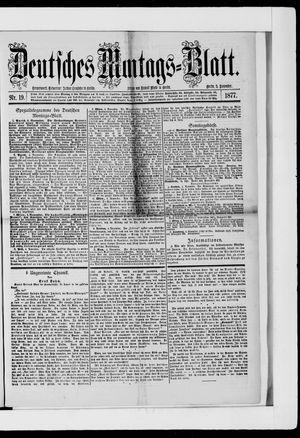 Berliner Tageblatt und Handels-Zeitung on Nov 5, 1877